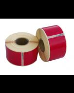 Seiko SLP-SRL kompatible Etiketten, 101mm x 54mm, 220 Etiketten, permanent, rot