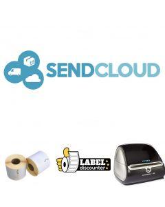 SendCloud Kombi-Paket: Dymo LW 4XL + 12 Rollen S0904980