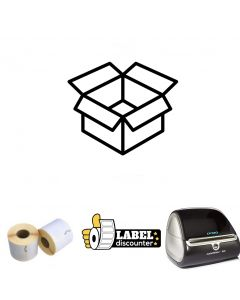 Versand Kombi-Paket: Dymo Etikettendrucker 4XL + 12 Rollen S0904980