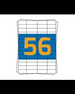 Herma Etiketten 4273, kompatibel, 52,5mm x 21,2mm, weiß, 5600 Etiketten