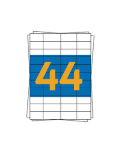 Herma Etiketten 4272, kompatibel, 48,3mm x 25,4mm, weiß, 4400 Etiketten