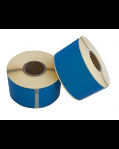 Seiko SLP-SRL kompatible Etiketten, 101mm x 54mm, 220 Etiketten, permanent, blau
