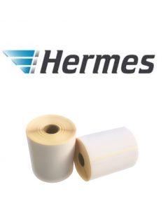 Thermische VersandEtiketten Hermes, 102mm x 210mm, 210 Etiketten, weiß, 25mm Kern, permanent