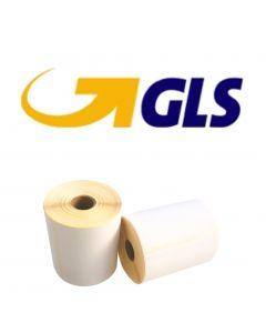 CAB kompatible GLS Versandetiketten, ECO, Format 102mm x 150mm, 300 Etiketten, weiß, 25 Kern, permanent