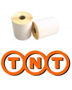 Zebra TNT  kompatible Versandetiketten, Format 102mm x 150mm, 300 Etiketten, weiß, 25 Kern, permanent