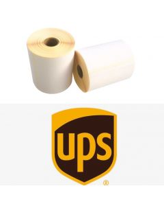 Zebra Versandetiketten UPS kompatible, Format 102mm x 152mm, 300 Etiketten, weiß, 25 Kern, permanent