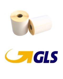 Zebra Versandetiketten GLS kompatible, Format 102mm x 152mm, 300 Etiketten, weiß, 25 Kern, permanent