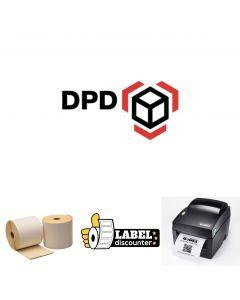 Kombi-Paket DPD Godex: Godex DT4x Ethernet + 12 Rollen 102mm x 150mm