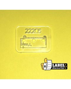 Brother-Platte 22205- transparent