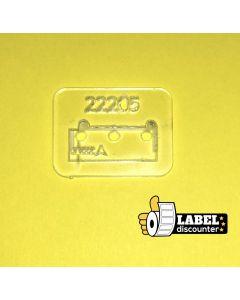 Brother-Platte 11208- transparent