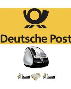 Kombi-Paket Internetmarke: Dymo Etikettendrucker 450 Turbo + 10 Rollen 99012