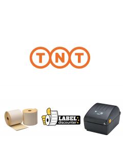Kombi-Paket TNT: Zebra ZD220D + 1000 Etiketten 102mm x 150mm