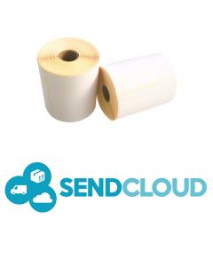 Thermische VersandEtiketten SendCloud, SendCloud Label, 102mm x 150mm, ECO, 300 Etiketten, weiß, 25mm Kern, permanent